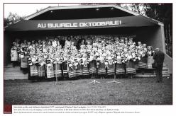 1977 - Seto leelo on üks seto kultuuri alustalasid. 1977. aastal peeti Värskas I Seto Leelopäev.  Foto: EVM N 0246-0072