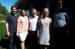 Majandus- ja taristuminister Kadri Simson külastas Setomaad
